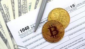 Bitcoin-Steuern.