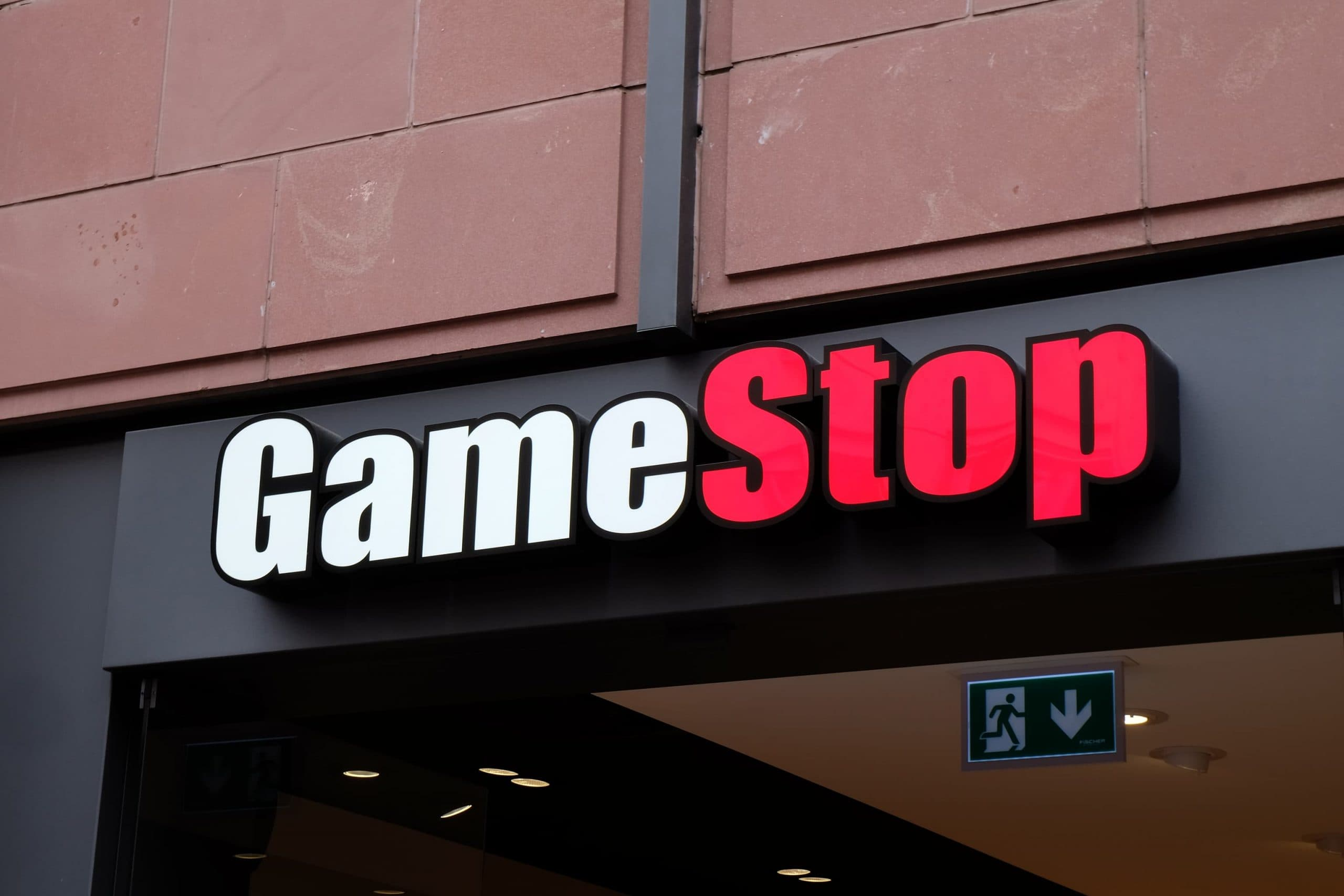 Gamestop-Filiale in Frankfurt am Main.