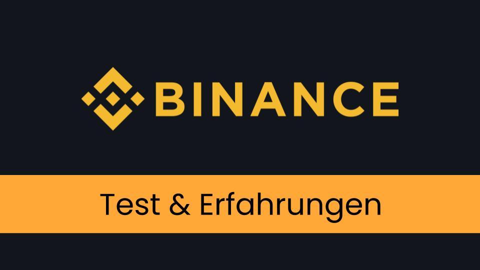 Binance Test und Erfahrung