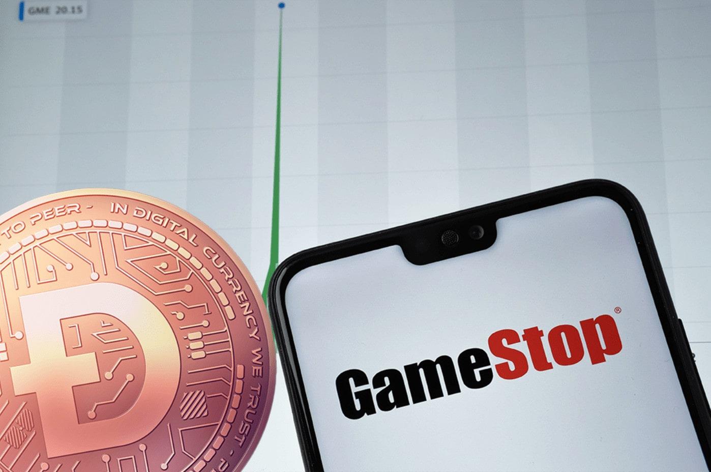 GameStop Dogecoin Lutz Auffenberg