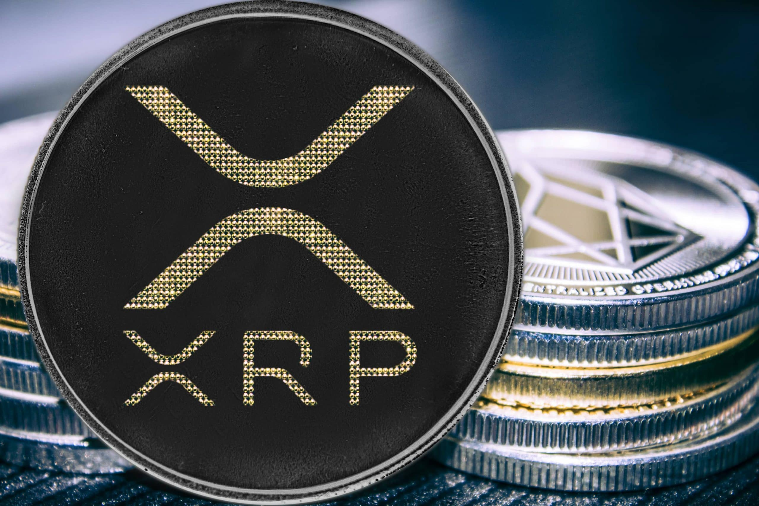 XRP-Münze von Ripple