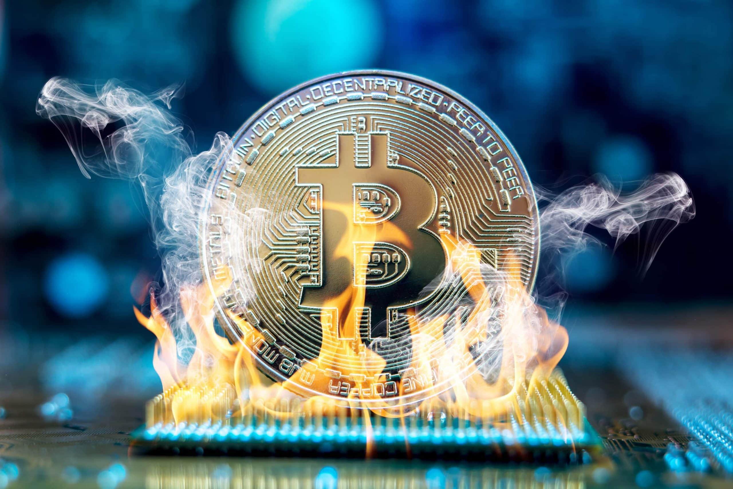 Bitcoin Fire Ausverkauf