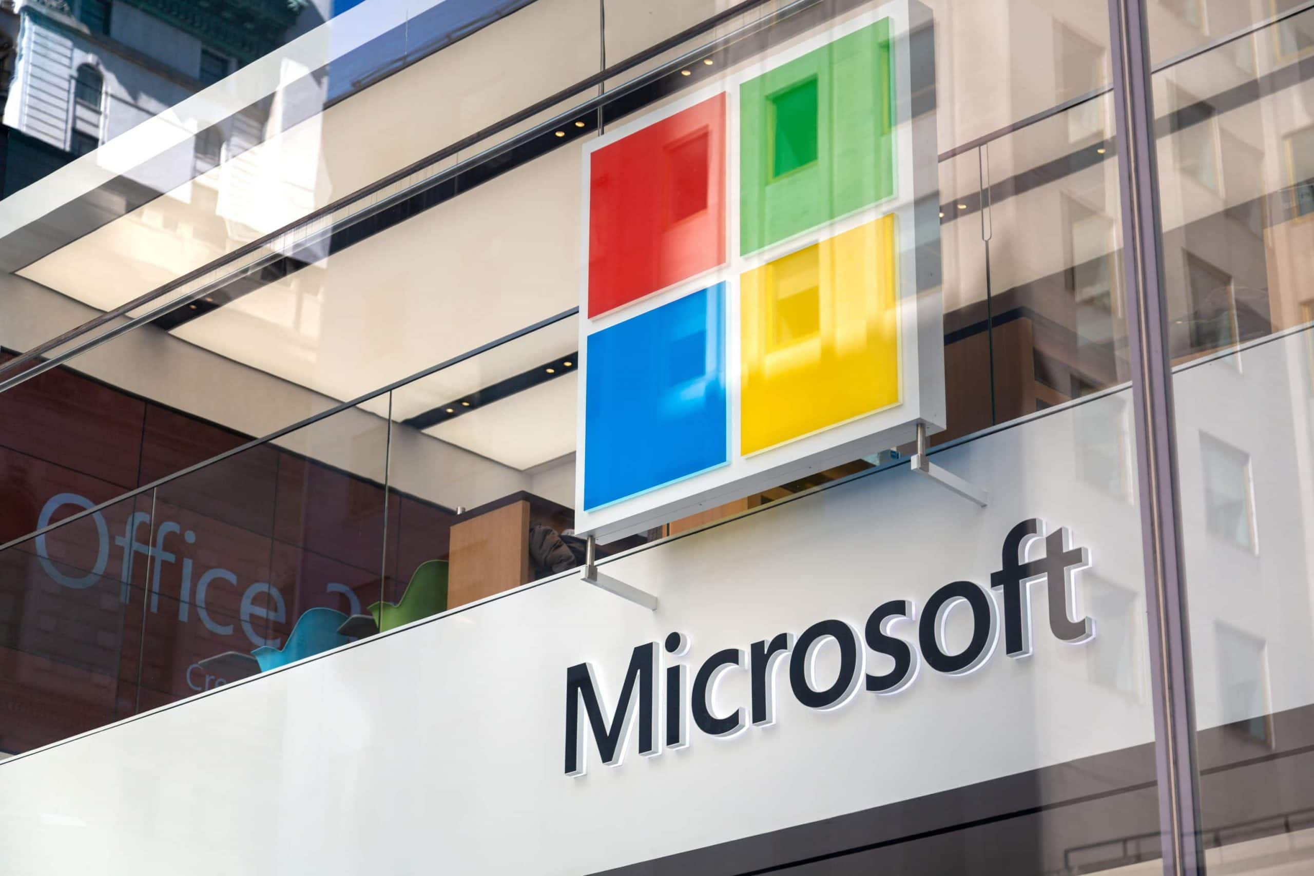 Microsoft Umwelt