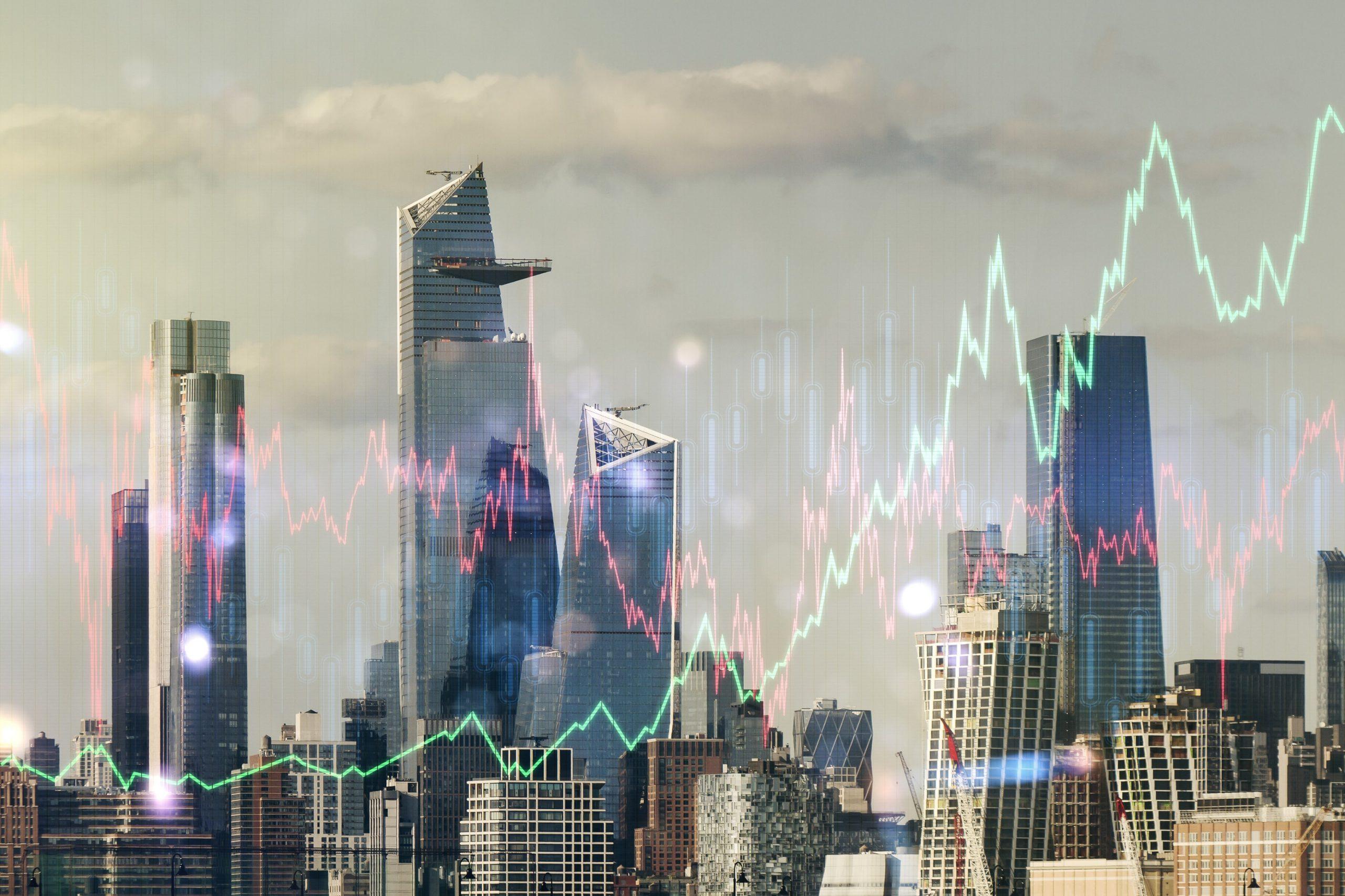 New York Skyline symbolisch für NYDIG.