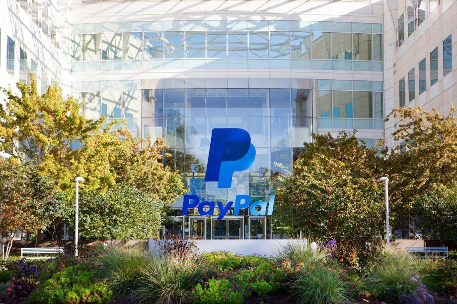 PayPal-Hauptquartier in Kalifornien.