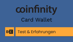 coinfinity card wallet test