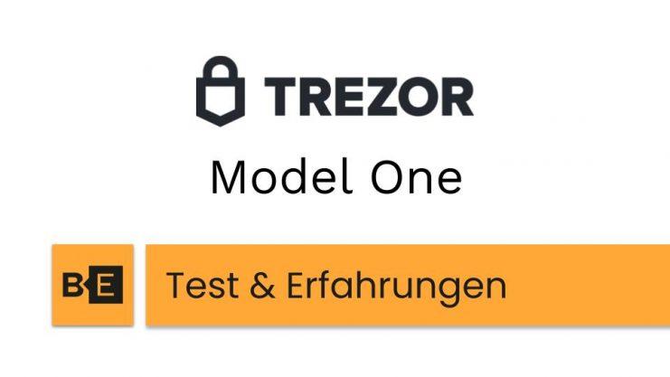 Trezor Model One Test Erfahrungen