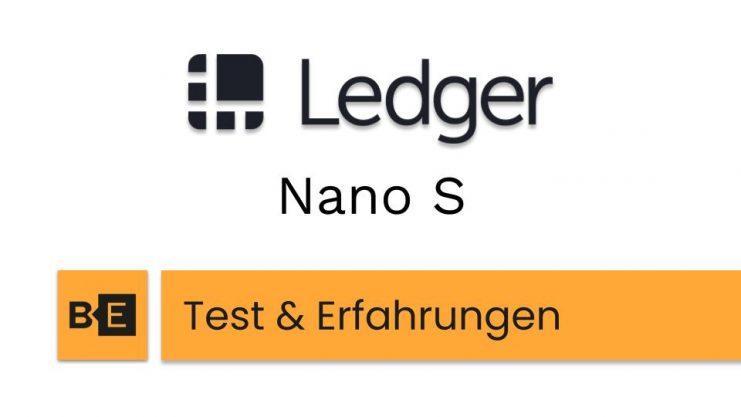 ledger nano s test und erfahrungen