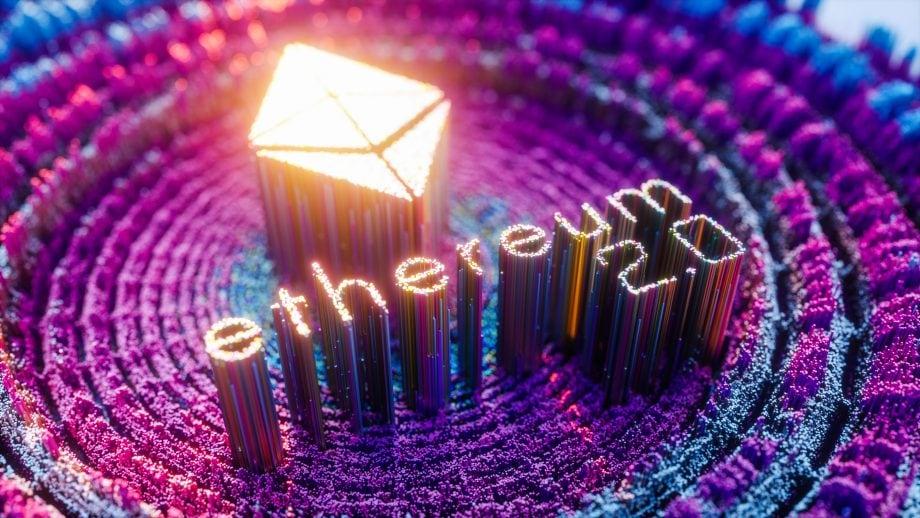 Das Logo von Ethereum 2.0 (ETH2)