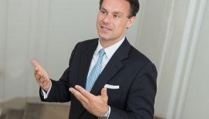 Der Chef der Wiener Börse Christoph Boschan