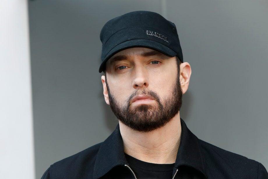 Der amerikanische Rapper Eminem