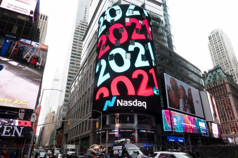 Nasdaq in New York, which is also the IPO of Coinbase takes place.