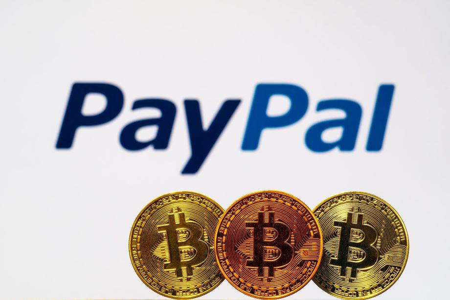 PayPal und Bitcoin.