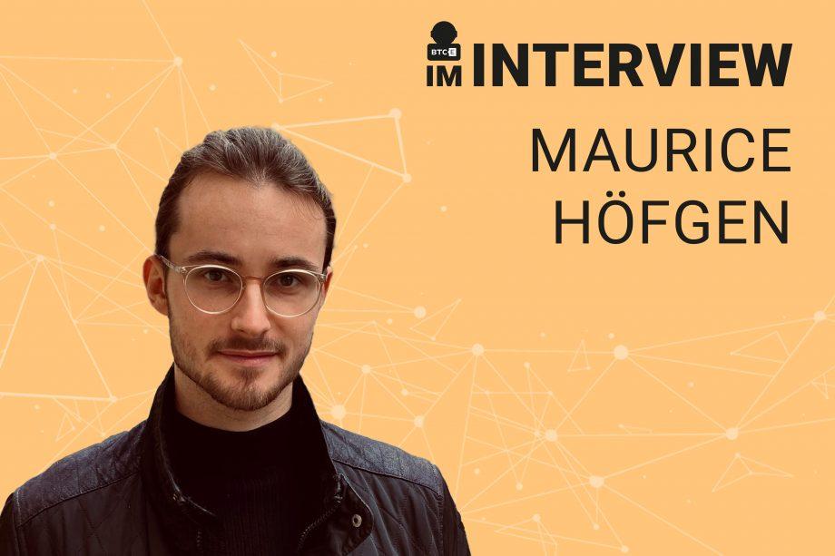 Maurice Höfgen im Interview