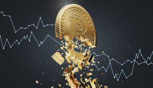 Symbolbild Bitcoin-Crash