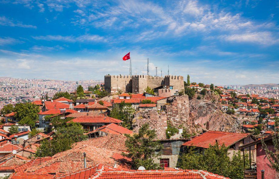 Panorama von Ankara.
