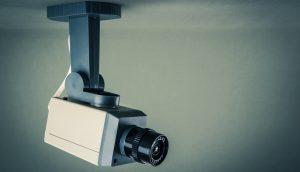 eEine Überwachungskamera