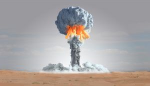 Mushroom Cloud Symbolbild Dogecoin Kurs Prognose