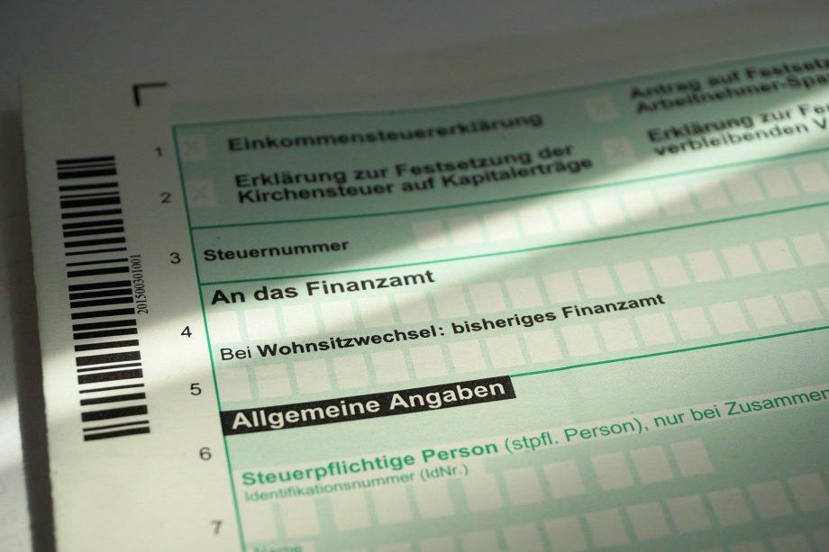 Steuerbescheid