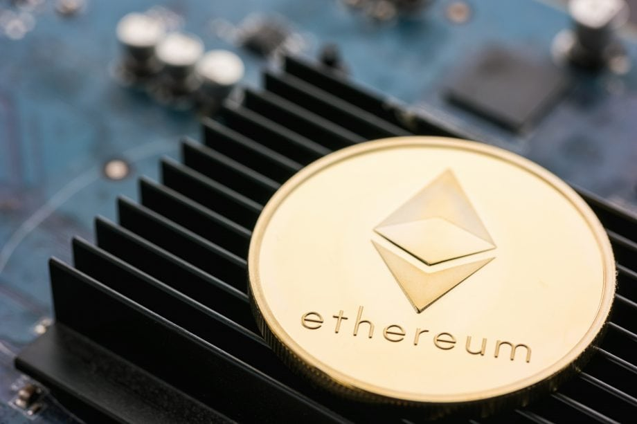 Ethereum-Münze