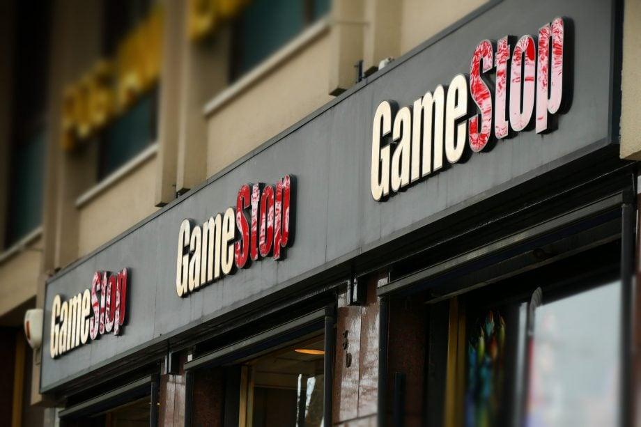Gamestop-Filiale