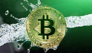 Symboldbild Bitcoin-Geldwäsche