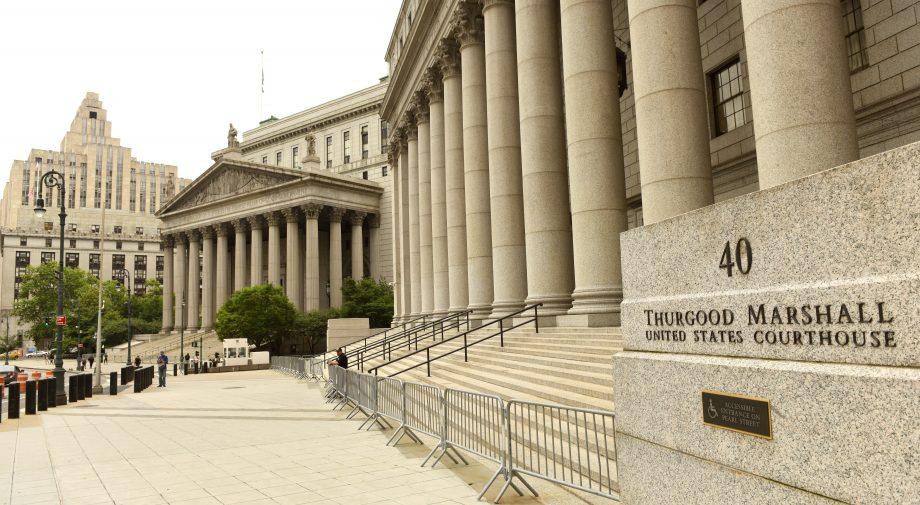 Das Gericht des südlichen Distrikts von New York