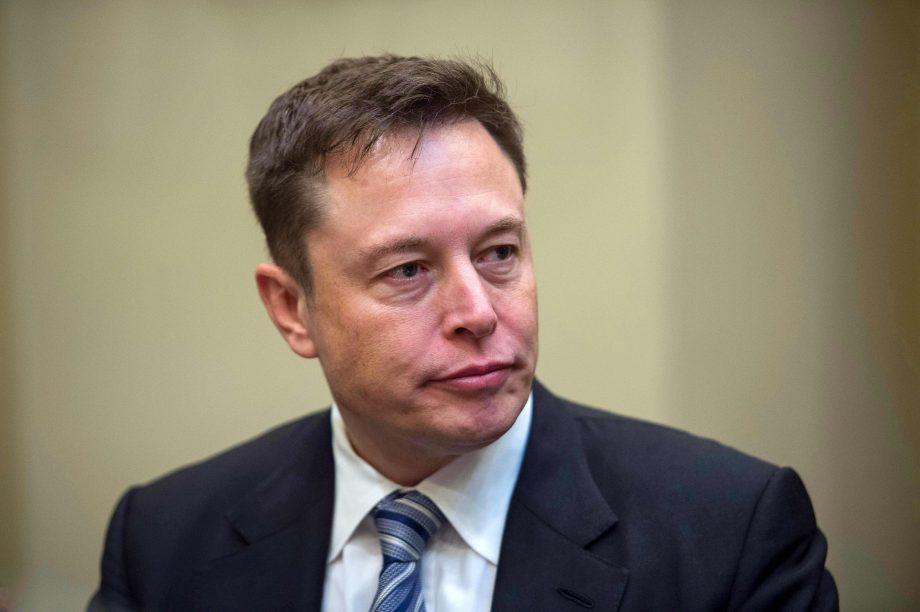Ein Bild von Elon Musk.