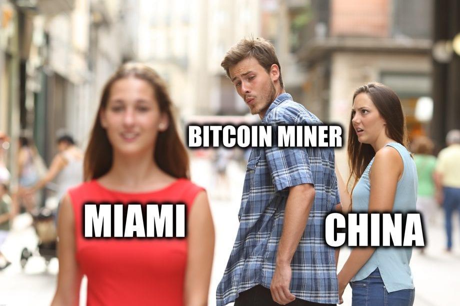 China Bitcoin Miner Miami