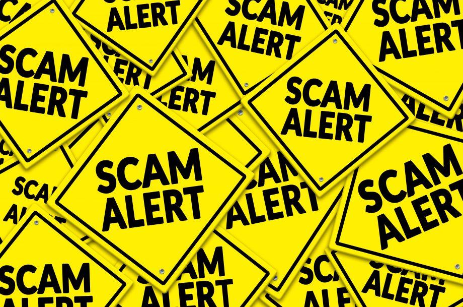 Bitcoin Scam Alert (Symbolbild)