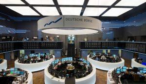 Die Räumlichkeiten der Deutschen Börse