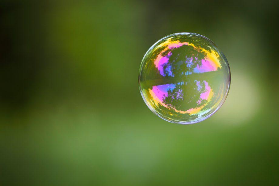 Eine Seifenblase