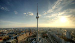 Panoramaansicht von Berlin