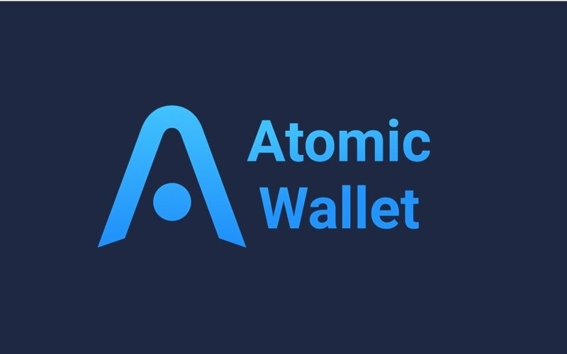 Logo der Atomic Wallet