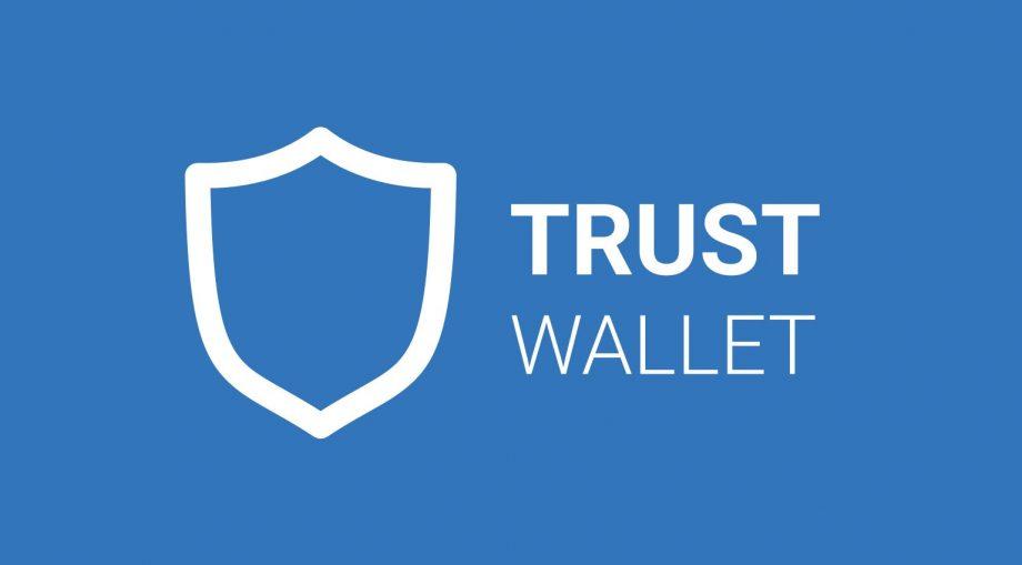 Das Logo der Trust Wallet.