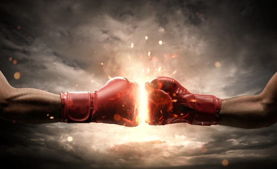 DeFi Fight Kampf Duell