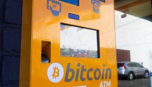 EIn Bitcoin-Automat.