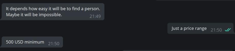 Chatverlauf