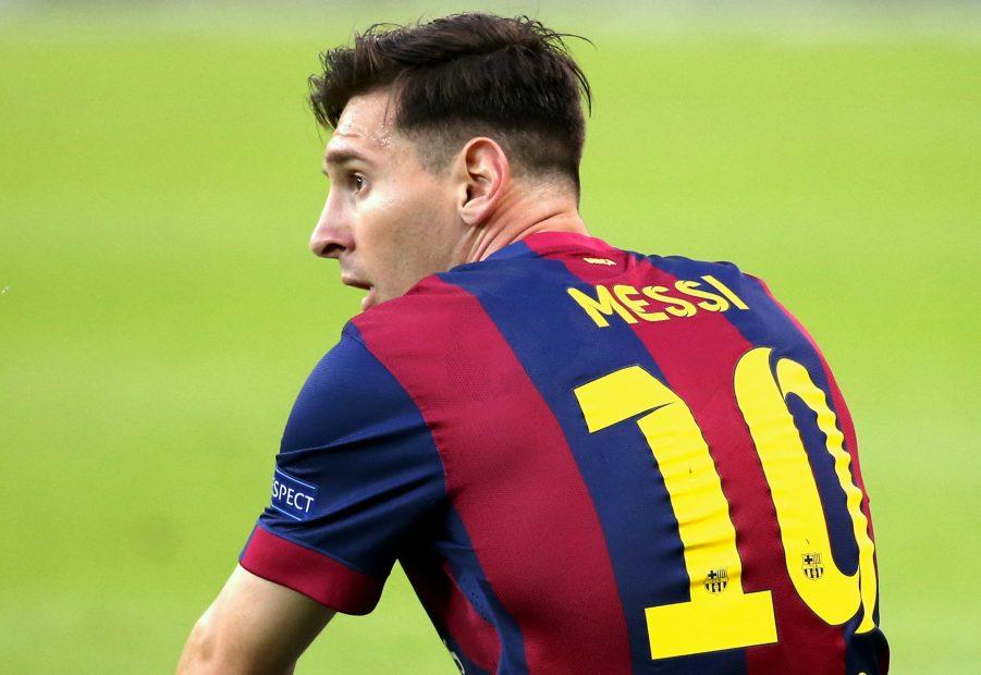 Lionel Messi beim UEAFA Champions League Finale 2015