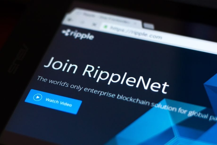 Die Webseite des RippleNet.
