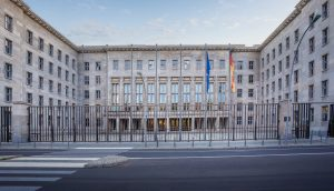 Das Gebäude des BMF in Berlin.