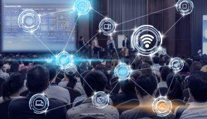 Digitale Konferenz.