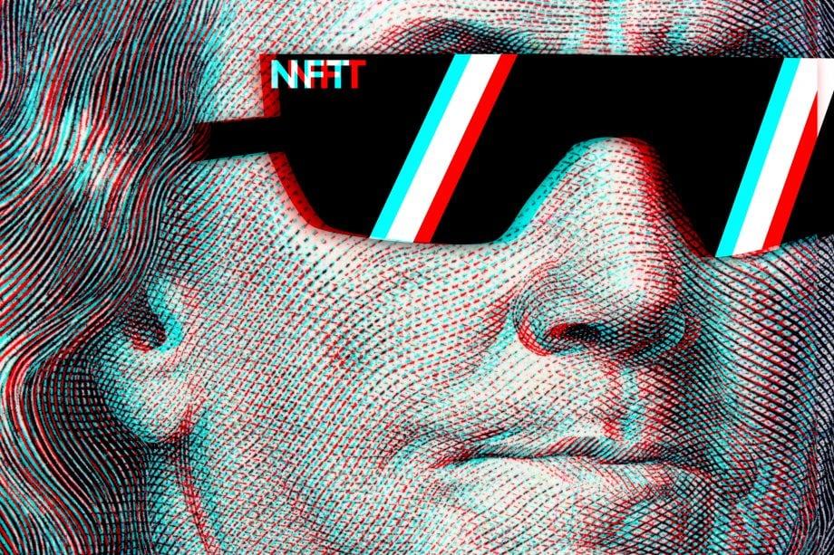 NFT als Dollarschein