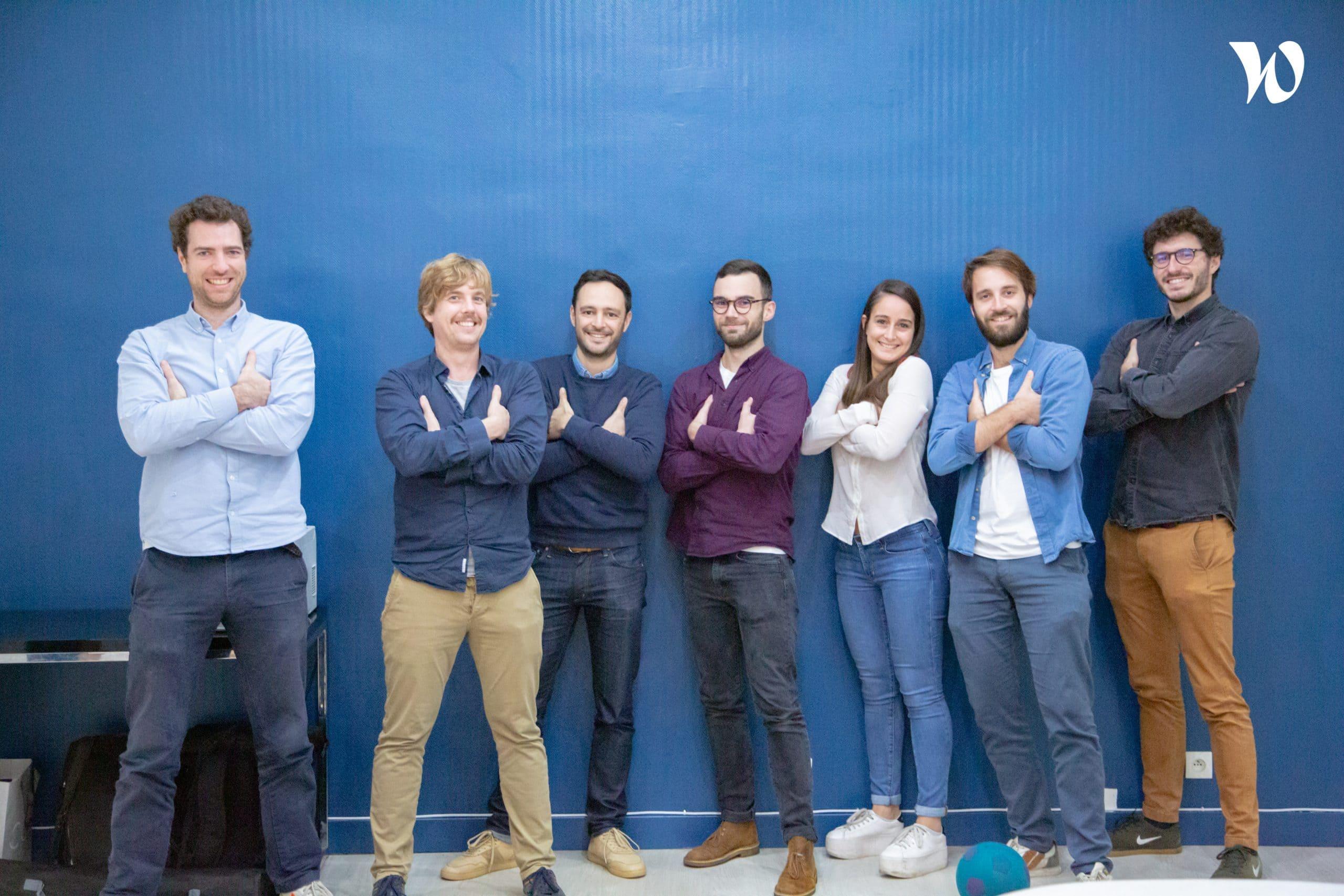 Das Team von Sorare