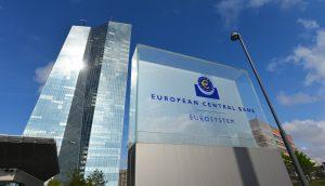EZB-Gebäude in Frankfurt am Main.