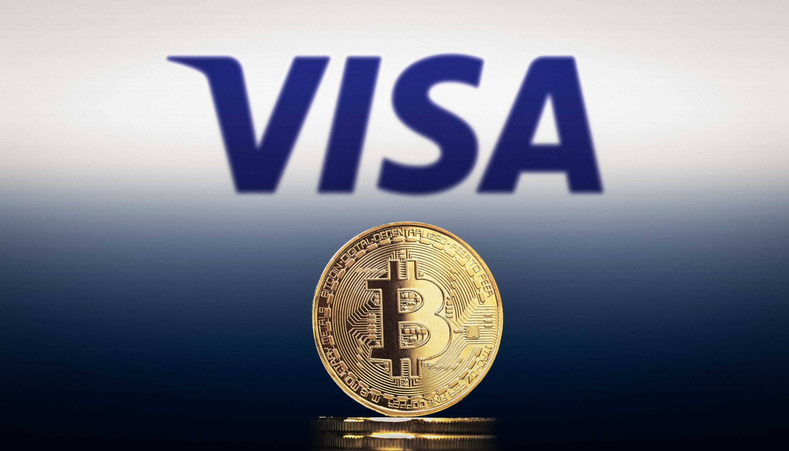 That's how bullish VISA is towards the crypto space