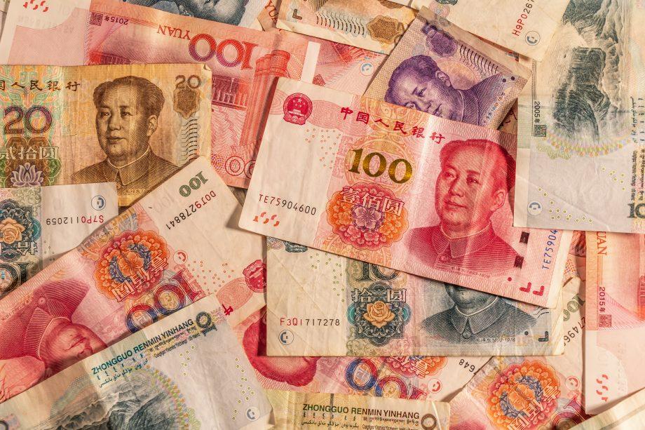 Yuan Banknoten als Gegenentwurf zu Bitcoin
