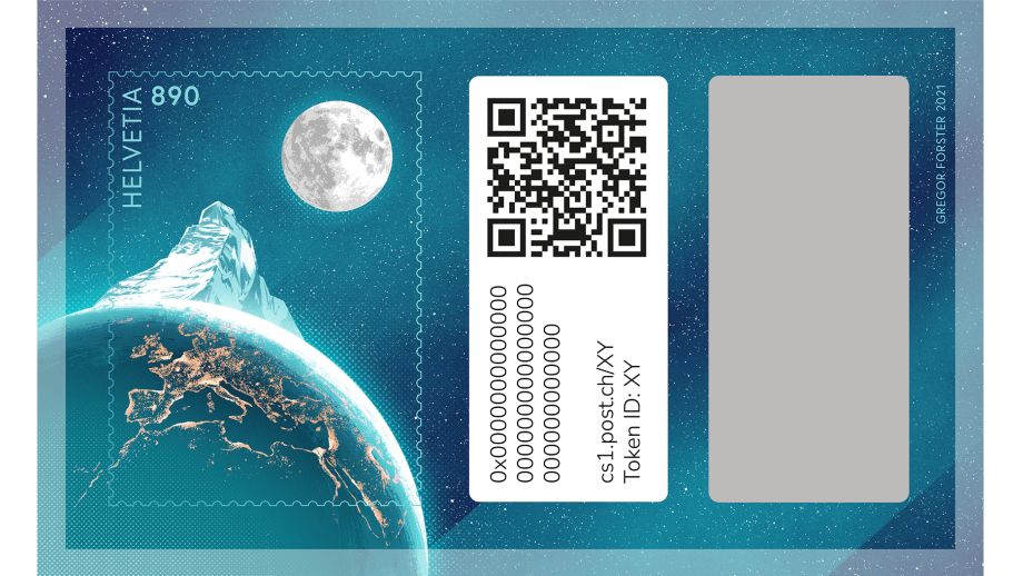 Krypto-Briefmarke