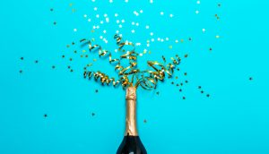 Champagnerflasche
