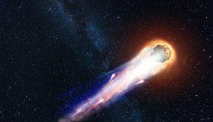 fliegender Komet